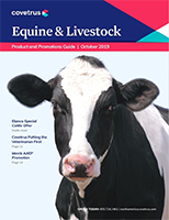 October 2019 Equine & Livestock Product & Promotions Guide