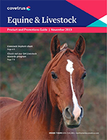 Equine and Livestock Product and Promotions